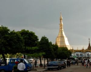 Yangon: Sule Pagoda