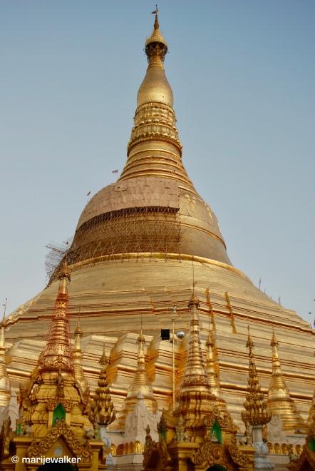 Yangon: Shwedagon Pagoda