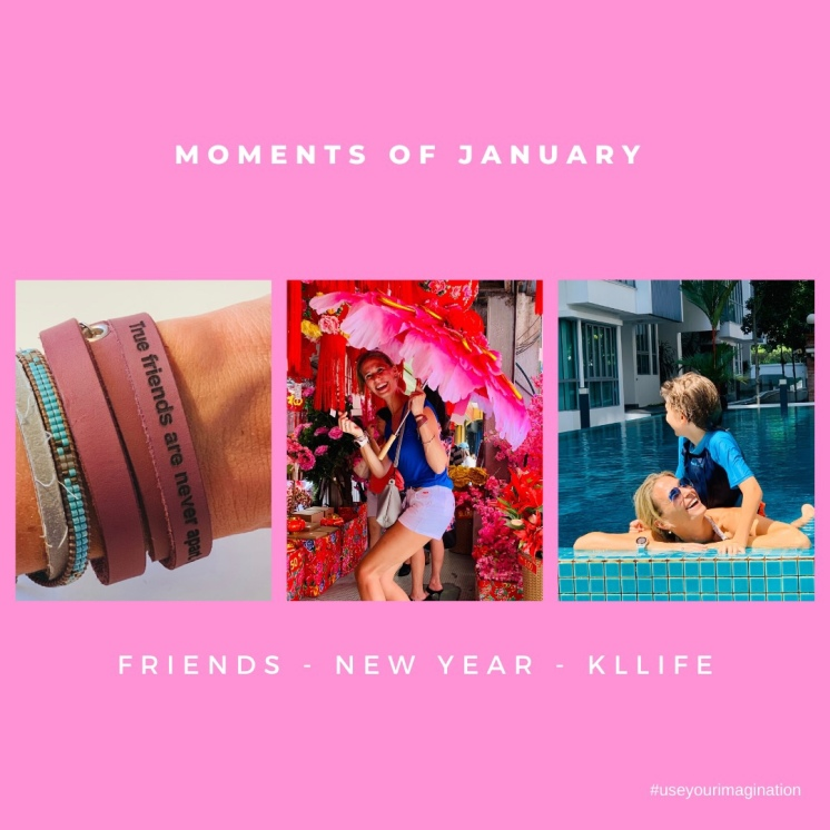 moments of january